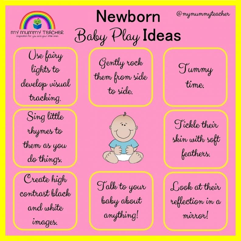Newborn play ideas
