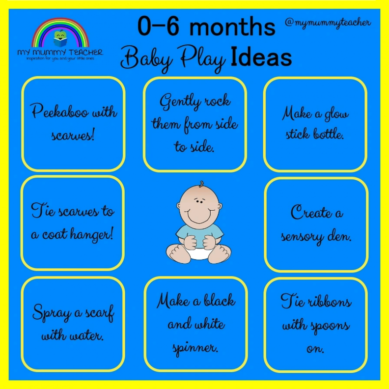 0-6 Month Play Ideas